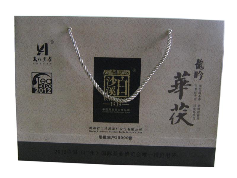 龙吟华茯礼盒900g(白沙溪2012) - AidaVIP 爱达黑茶