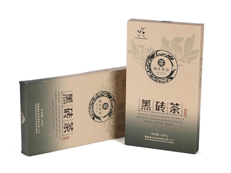 黑砖茶1.68kg(湘丰2012)