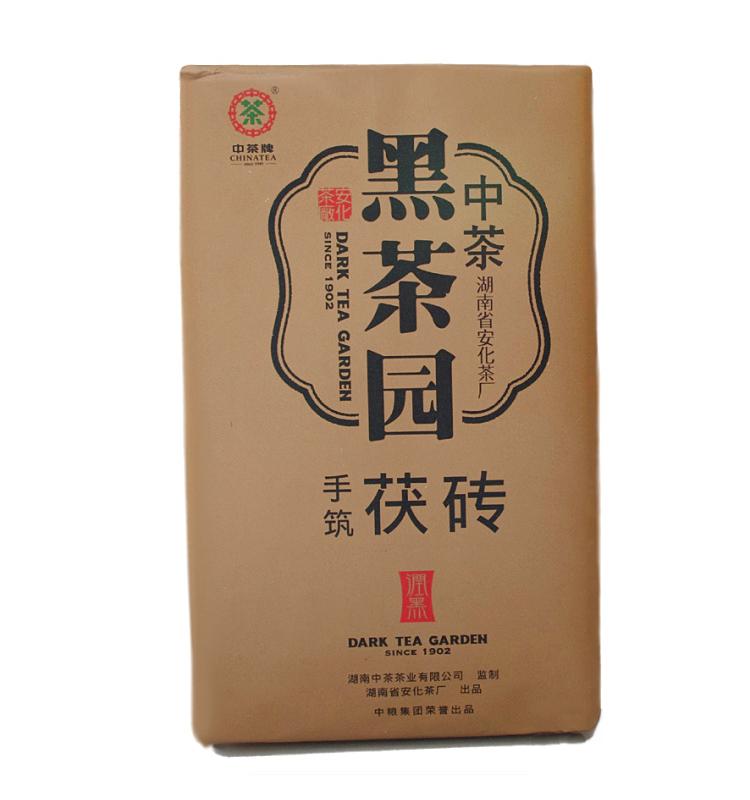 润黑手筑茯砖1kg(中茶2013)1
