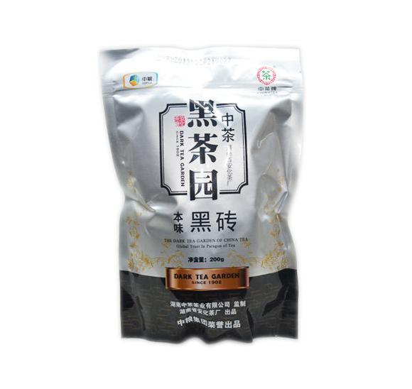 本味黑砖200g(中茶2013)
