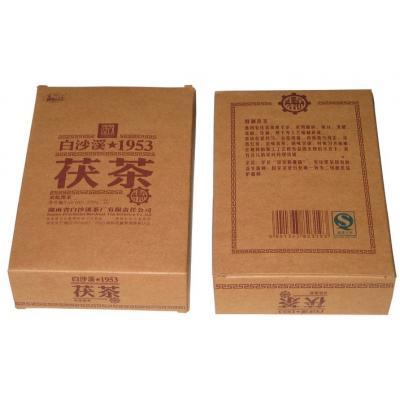 1953特制茯茶338g(白沙溪2014)   经典畅销大众型茯砖茶