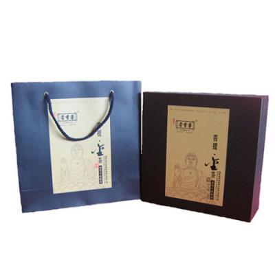菩提金茶礼盒(晋丰厚2011)金花天成散茶