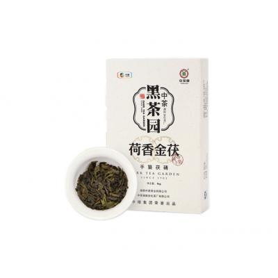 荷香金茯手筑茯砖茶1kg(中茶2013)