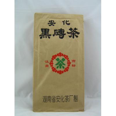 安化黑砖茶1.8kg(中茶2003)  珍稀陈年老茶 品质口感优异