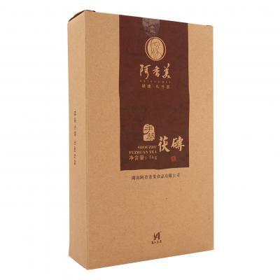 手筑茯砖茶卡盒1kg(阿香美2013)