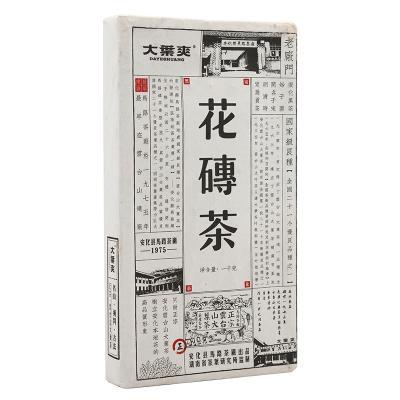 大叶爽花砖茶1kg(大叶爽2016)