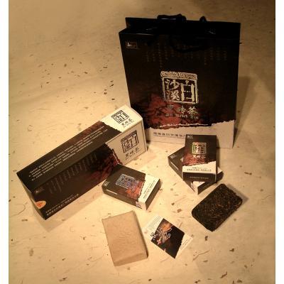 精品黑砖茶600g(白沙溪2011)
