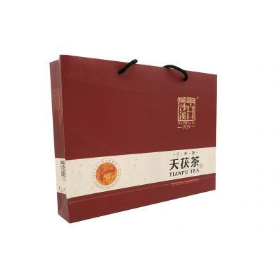 天茯茶三年陈礼盒1kg(白沙溪2017)
