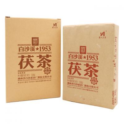 1953特制茯茶338g(白沙溪2018)
